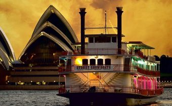 Sydney's famous authentic paddlewheelers